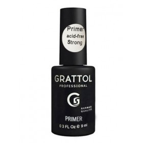 Grattol Primer Acid-free STRONG (9мл)